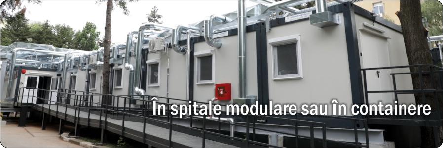 Toalete spitale modulare